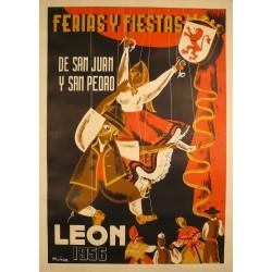 LEON 1956 FERIAS Y FIESTAS