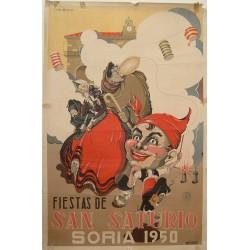 SORIA 1950 FIESTAS DE SAN SATURIO