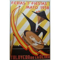 TALAVERA DE LA REINA 1958 FERIAS Y FIESTAS