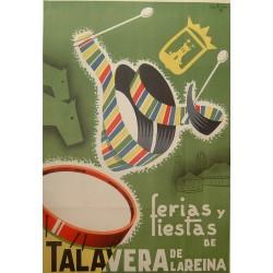 TALAVERA DE LA REINA Ca.1950 FERIAS Y FIESTAS