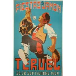 TERUEL 1969 FIESTAS DEL JAMON
