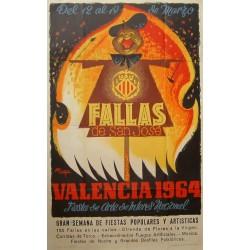 VALENCIA 1964 FALLAS DE SAN JOSE