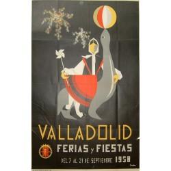 VALLADOLID 1958 FERIAS Y FIESTAS