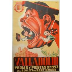 VALLADOLID 1953 FERIAS Y FIESTAS