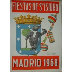 MADRID 1968 FIESTA DE SAN ISIDRO