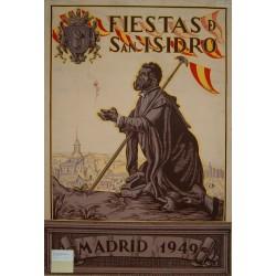 MADRID 1949 FIESTA DE SAN ISIDRO