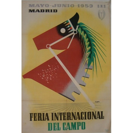 MADRID 1953 FERIA INTERNACIONAL DEL CAMPO