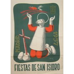 MADRID 1957 FIESTA DE SAN ISIDRO