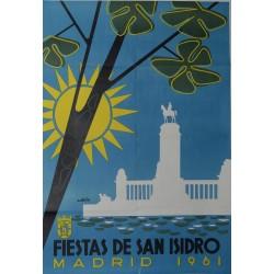 MADRID 1961 FIESTA DE SAN ISIDRO