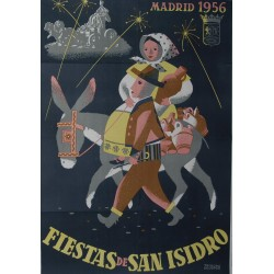 MADRID 1956 FIESTA DE SAN ISIDRO