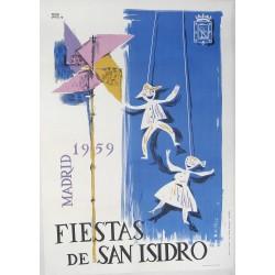 MADRID 1959 FIESTA DE SAN ISIDRO