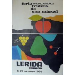 LERIDA FERIA FRUTERA 1966