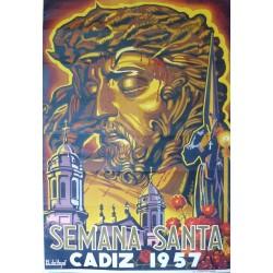 CADIZ SEMANA SANTA 1957