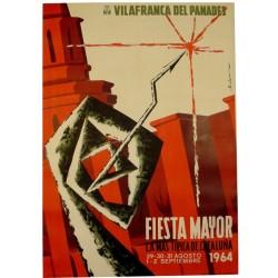 VILAFRANCA DEL PENEDES. FIESTA MAYOR 1964