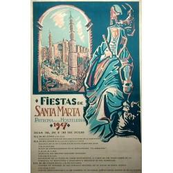FIESTAS DE SANTA MARTA 1947