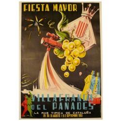 FIESTA MAYOR VILAFRANCA DEL PANADES 1956