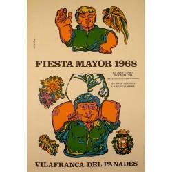 FIESTA MAYOR 1968 VILAFRANCA DEL PANADES