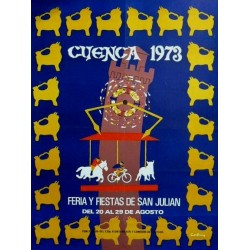 FERIA Y FIESTAS DE SAN JULIAN CUENCA 1973