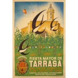 FIESTA MAYOR DE TARRASA 1946