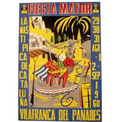 FIESTA MAYOR VILAFRANCA DEL PENEDES 1960