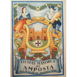 FIESTAS MAYORES DE AMPOSTA 1948