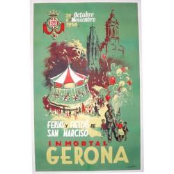 FERIAS Y FIESTAS GERONA 1956