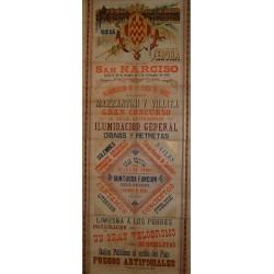 FERIAS Y FIESTAS GERONA 1897