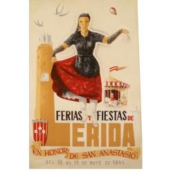 FERIAS Y FIESTAS DE LERIDA 1955 (LLEIDA)