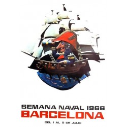 BARCELONA SEMANA NAVAL 1966