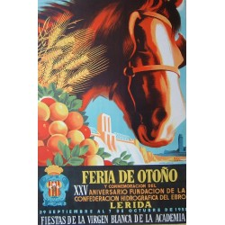 LERIDA FERIA DE OTOÑO1951