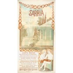 FESTA MAJOR SARRIA 1911