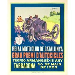 REIAL MOTO CLUB DE CATALUNYA. TARRAGONA 1923
