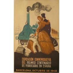 EXPOSICIÓN 1R. CENTENARIO FERROCARRIL ESPAÑA