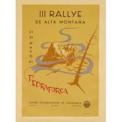 III RALLYE ALTA MONTAÑA PEDRAFORCA