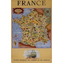 FRANCE, CHEMIN DE FER