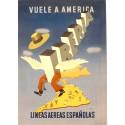 IBERIA VUELE A AMERICA. LINEAS AEREAS ESPAÑOLAS