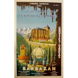 BARBAZAN, LOURES-BAROUSSE