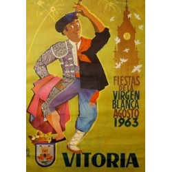 VITORIA, FIESTAS DE LA VIRGEN BLANCA, 1963