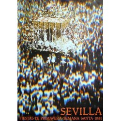 SEVILLA FIESTAS DE PRIMAVERA 1981