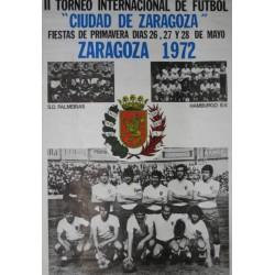 ZARAGOZA 1972 II TORNEO INTERNACIONAL DE FUTBOL