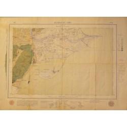 MAPA GEOLOGIC DE LES GOLES DE L'EBRE Fª 43