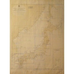 INDEX TO ADMIRALTY CHARTS JAPAN ISLANDS AND EASTERN COASTS OF KOREA AND SIBERIA