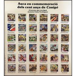 AUCA EN COMMEMORACIO DELS CENT ANYS DE CANIGO