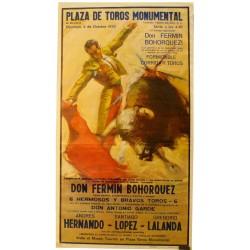 PLAZA DE TOROS MOMUMENTAL.4 OCTUBRE 1970