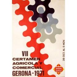 VII CERTAMEN AGRICOLA Y COMERCIAL 1971