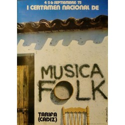 TARIFA. I CERTAMEN NACIONAL DE MUSICA FOLK