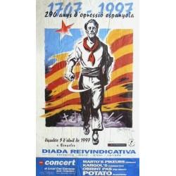 1707 - 1997, 290 ANYS D'OPRESSIÓ ESPANYOLA