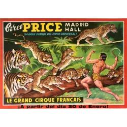 LE GRAND CIRQUE FRANÇAIS. CIRCO PRICE MADRID HALL
