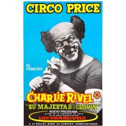 """CHARLIE RIVEL """"SU MAJESTAD EL CLOWN"""" CIRCO PRICE"""