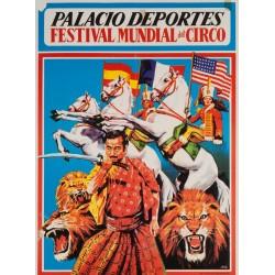 PALACIO DE LOS DEPORTES. FESTIVAL MUNDIAL DEL CIRCO